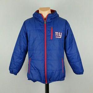 NFL New York Giants Men's Puffer Jacker
